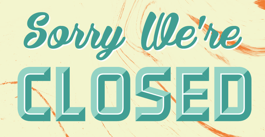 closed poster