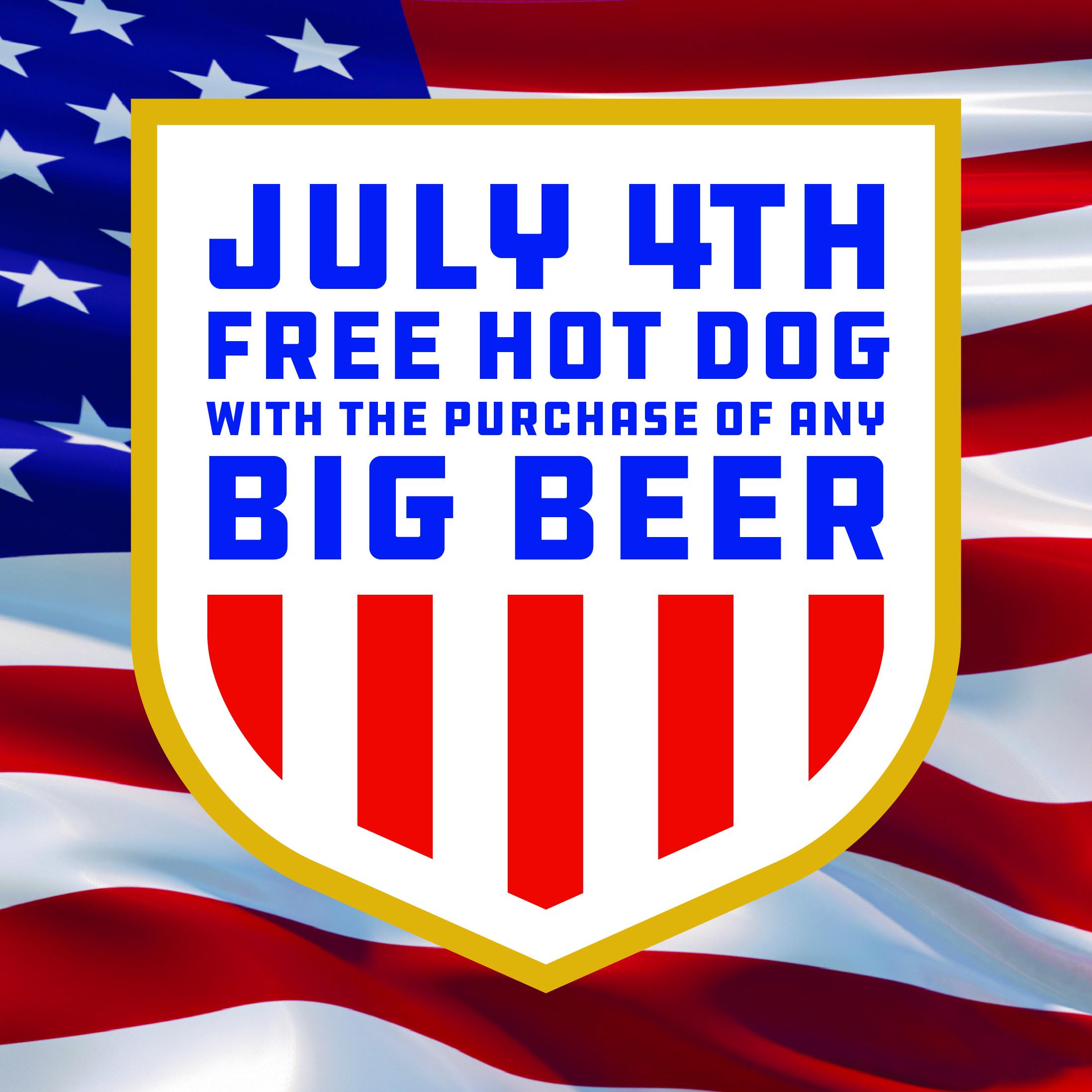 july 4 big beer promotion